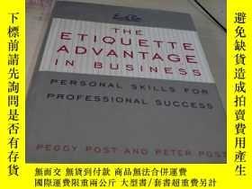 二手書博民逛書店The罕見Etiquette Advantage in Business: Personal Skills for