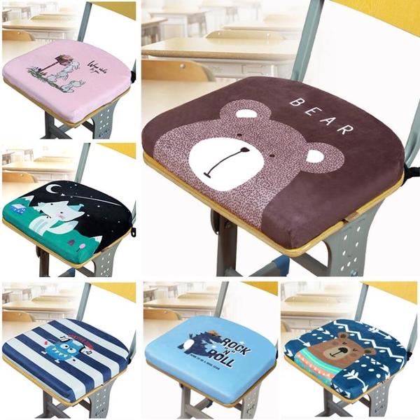 學生坐墊教室學校記憶棉墊子椅子凳子椅墊座墊夏季透氣久坐屁股墊 「久坐必備」