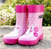 春夏卡通立體兒童時尚防滑雨靴雨鞋