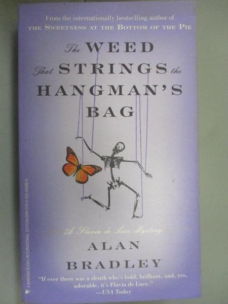 【書寶二手書T6/原文小說_BRB】The Weed That Strings the Hangmans Bag_A. Bradley