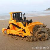 大號挖土履帶推土機農用耕地拖拉機玩具車工程車模型農夫車兒童 全館免運