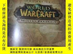 二手書博民逛書店THE罕見ART OF WORLD OF WARCRAFT:MI