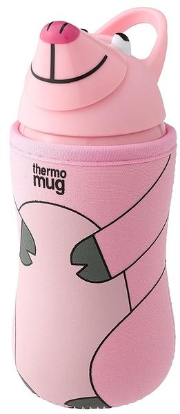 日本超人氣thermo mug 動物兒童水壺-粉紅豬