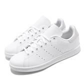 【海外限定】adidas 休閒鞋 Stan Smith J 白 銀 女鞋 大童鞋 運動鞋 【PUMP306】 F34338