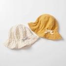 女嬰兒漁夫帽春秋夏季薄款遮陽太陽帽可愛公主女寶寶嬰幼兒童帽子一米