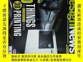 二手書博民逛書店Design罕見News Magazine 2013 08 設計新聞原版設計理論學術期刊Y14610