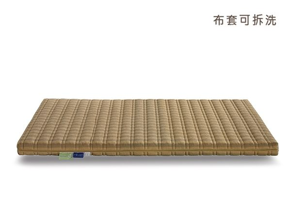 10cm厚度多功能薄墊5尺【比利時布料 天然乳膠+高彈力舒壓棉】瑞格居家床品