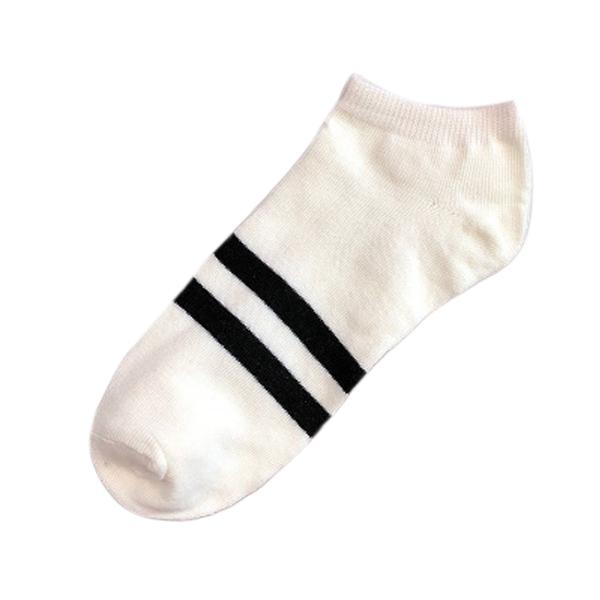 襪子 運動襪 撞色 純色 透氣 棉襪 半統襪 彈性襪 吸汗 條紋筒襪