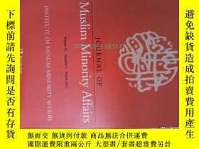 二手書博民逛書店外文雜誌罕見Journal of Muslim minority