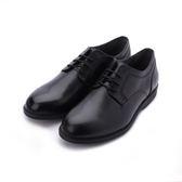 HUSH PUPPIES SHEPSKY 正裝綁帶款皮鞋 黑 6183M149301 男鞋