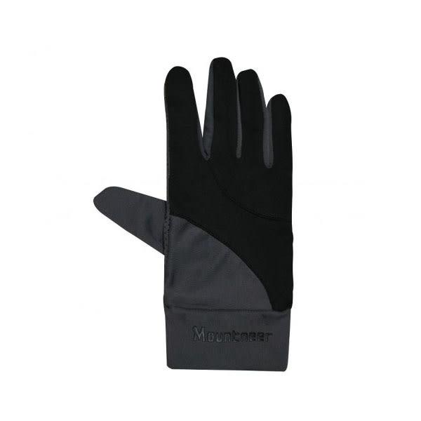 [Mountneer] 山林 中性抗UV觸控手套 黑 (11G01-01)