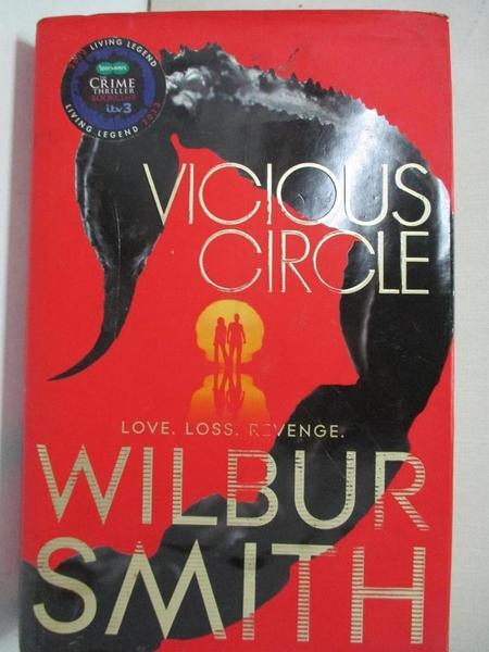 【書寶二手書T1/原文小說_DIW】Vicious Circle_Wilbur Smith