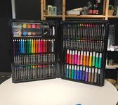兒童繪畫套裝工具小學生幼兒畫畫筆禮盒幼兒園美術用品188YYP      琉璃美衣