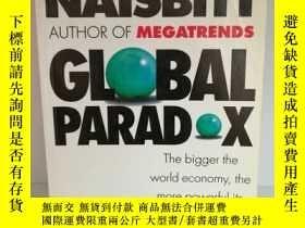 二手書博民逛書店簽名本罕見約翰·奈斯比特 Global paradox:The