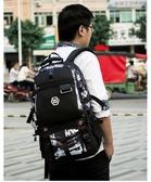 電腦包 旅行包大容量潮流書包戶外登山行李袋旅游背包時尚電腦後背包男士 8號店