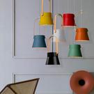 18PARK 研提吊燈-16cm(橘)含LED-10W黃光燈泡-生活工場