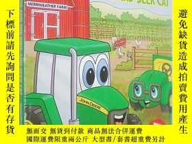 二手書博民逛書店Johnny罕見Tractor and the Hide-and