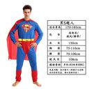 萬聖節cos成人超人服裝男女蜘蛛俠蝙蝠俠美國隊長肌肉雷神表演服
