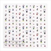 〔小禮堂〕Hello Kitty 棉質便當包巾《白.驚喜箱》43x43cm.手帕.餐巾.桌巾.銅板小物 4573135-58705