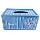 小禮堂 迪士尼 史迪奇 木製滑蓋面紙盒 ...