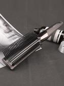 梳子男士吹蓬松頭髪造美髪捲髪梳