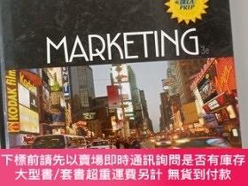二手書博民逛書店【外文原版】罕見MARKETING 3e市場營銷Y478501 Jomes L.Burrow SOUTH-WE