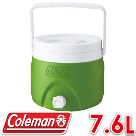 【Coleman 美國 7.6L 置物型飲料冰桶 綠色 】CM-1364/保冰桶/飲料筒/保冷壺/紅茶桶★滿額送