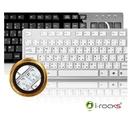 【超人百貨F】i-rocks K01巧克力超薄鏡面鍵盤 全中英文有注音/倉頡輸入法