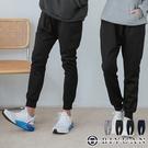 【OBIYUAN】休閒褲 機能防潑水 厚磅 內刷毛 飛鼠褲 縮口 運動褲 共4色 【HJ3187】