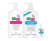 (溫和/油性)洗髮乳1000mlx任選2瓶 贈油性洗髮乳50mlx1