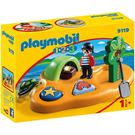 playmobil 123series 海盜與無人島_PM09119