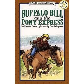 〈汪培珽英文書單〉〈An I Can Read系列:Level 3)BUFFALO BILL AND THE PONY EXPRESS / 讀本
