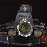 超亮3000流明強光充電頭燈 探洞戶外遠射探照燈手電筒野釣魚礦燈 創時代