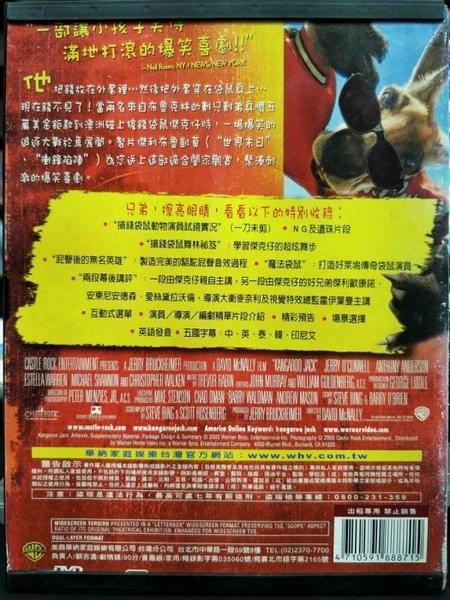 挖寶二手片-I08-001-正版DVD-電影【搶錢袋鼠】-安東尼安德森 傑利歐康諾(直購價)