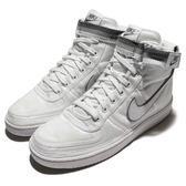 Nike 休閒鞋 Vandal High Supreme 白 灰 高筒 復古 復刻經典款 運動鞋 男鞋【PUMP306】 318330-100