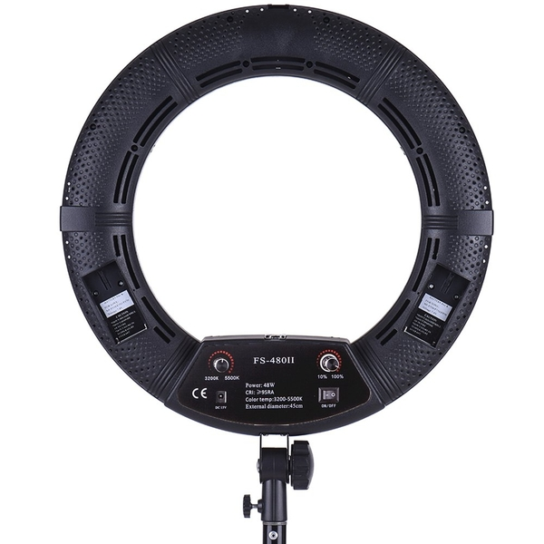 【第二代】Meidike FS-480 II 18吋 RING LED 480顆燈珠48瓦 環形LED美光燈,可調色溫 FS-480IIc B C P