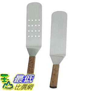 [美國直購] overstockedkitchen UPWTPF/SD Grill 煎鏟2入組 Turner Perforated & Solid Face Spatula