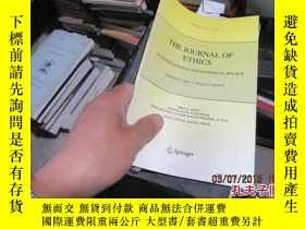 二手書博民逛書店the罕見journal of ethics 384519636
