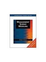 二手書博民逛書店 《Management Science Modeling ( CD/ROM)》 R2Y ISBN:0495016276│Albright