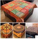 布藝棉麻餐桌桌布田園風餐廳創意台佈客廳茶几布厚款蓋布