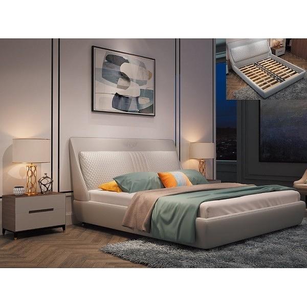 床架 PK-194-1 艾爾灰6尺床台 (床頭+床底)(不含床墊) 【大眾家居舘】