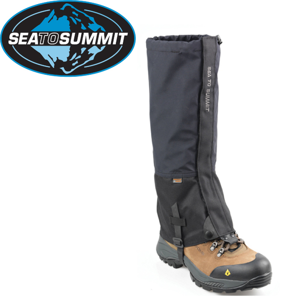 【Sea to Summit 澳洲 Alpine eVent 綁腿《黑》】STSAAEG/防水/防雪/登山★滿額送