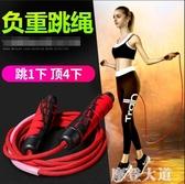 跳繩負重健身成人女性專業運動計數器跳神繩子『摩登大道』