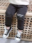 男童牛仔褲加絨加厚韓版休閒褲嬰兒褲子棉褲兒童保暖褲寶寶冬裝