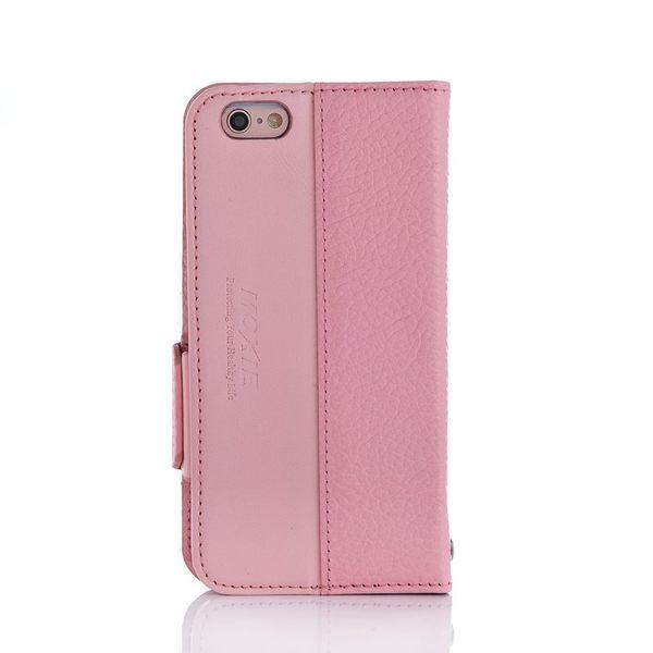 X-SHELL IPHONE 6/6s 防電磁波真皮手機皮套 (荔枝紋 珍珠粉)