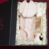 創意杯子陶瓷帶蓋勺馬克杯簡約情侶家用水杯牛奶咖啡杯韓版女 露露日記