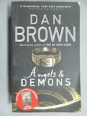 【書寶二手書T2/原文小說_JMB】Angels and Demons_Dan Brown