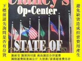 二手書博民逛書店Tom罕見Clancy s op-Center STATE OF