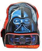 【卡漫城】 星際大戰 後背包 高40cm 大臉 ㊣版 歐美版 書包 兒童 外出 造型 旅行包 黑武士 Star wars