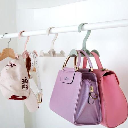 居家小物 可旋轉衣櫃包包掛架 掛鉤 包包掛架 包包掛鉤 包包掛勾 收納 掛勾 皮帶 領帶 包包 帽子